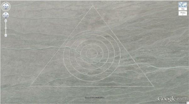 triangolo con cerchio
